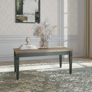 Tavolino Texel verde quercia