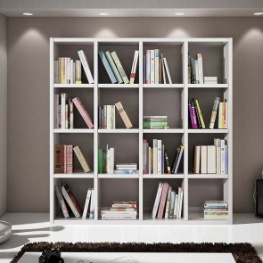 Libreria moderna Kubic 04
