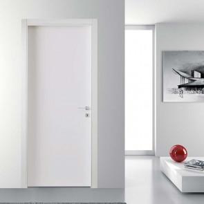 Porta interna Luisa a battente 70 x 210 bianco laccato