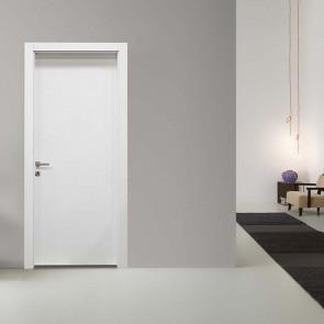Porta interna Lara battente 80 x 210 bianco matrix