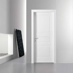Porta interna Maica battente 80 x 210 bianco laccato