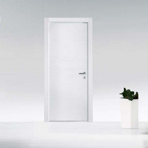 Porta interna Fabrizia battente 70 x 210 bianco struttura