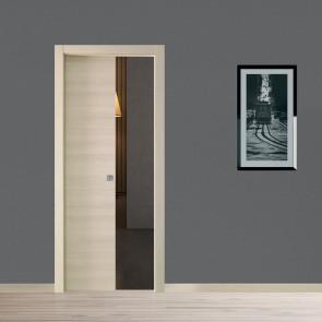 Porta interna Ilaria scorrevole scomparsa 80 x 210 orzo