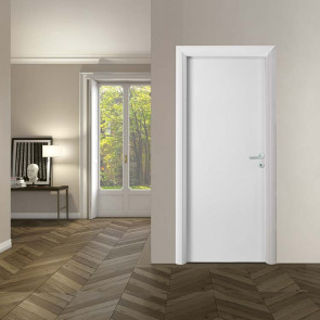 Porta interna Greta battente 80 x 210 bianco