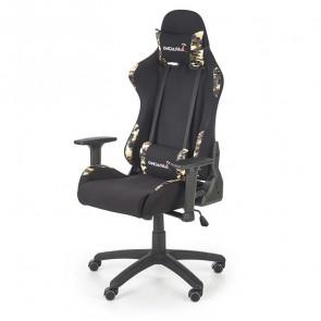 Gaming chair Shara tessuto ecopelle nero