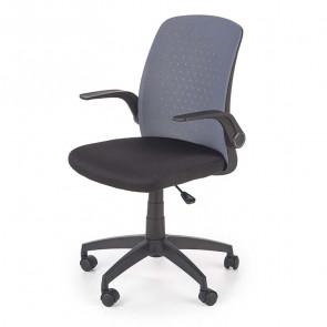 Sedia ufficio Ally tessuto rete grigio nero