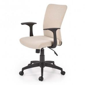 Sedia per scrivania ragazzi Diana tessuto beige moderna