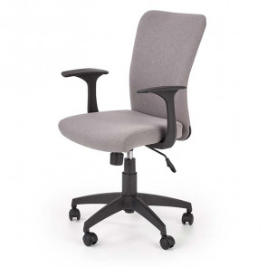 Sedia per scrivania ragazzi Diana tessuto grigio moderna