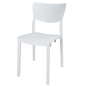 Sedia plastica Aura bianca